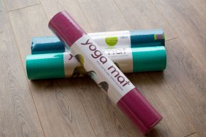 Yoga mats for sale in our shop